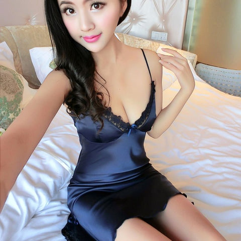Elegant Silk Nightdress