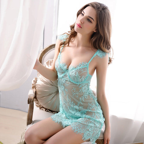 Sheer Lace Nightdress
