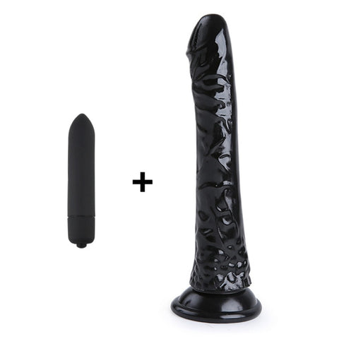 "O-Mazing 8"" Crystal Jelly Dildos"
