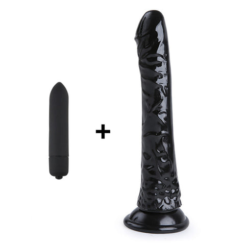 "Crystal 8"" Jelly Dildo"