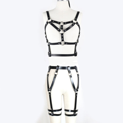 Nightclub Style Bondage Harness for Women