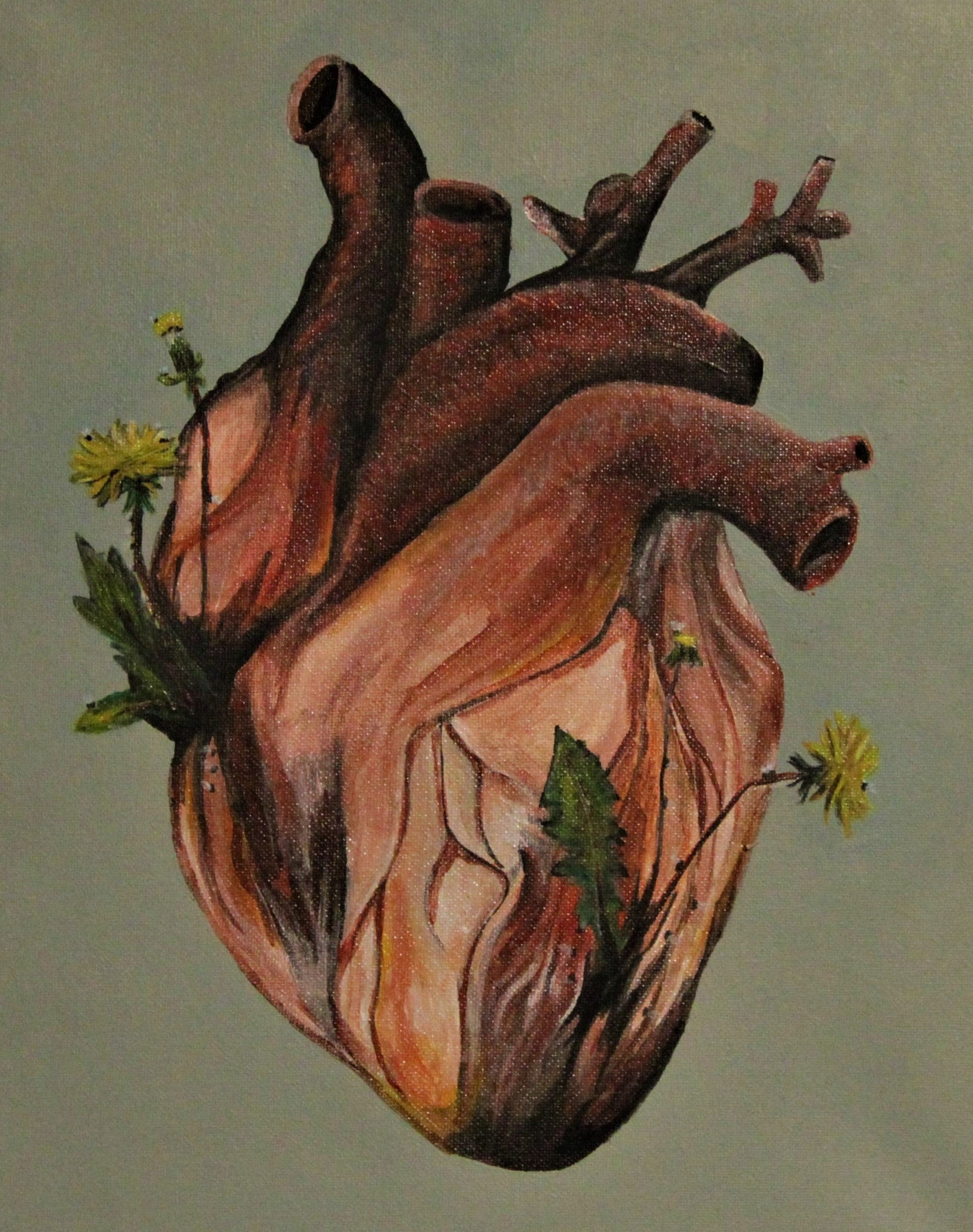 """Heart Garden"" Original Painting"