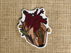 """Heart Garden"" Iron-on Patch"