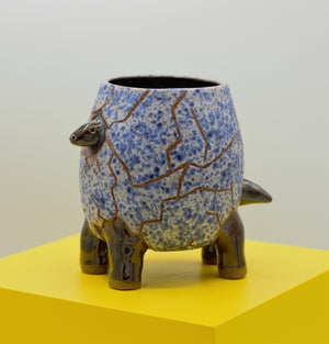🔆Unique Ceramic Dino Egg Mug🔆 AKA 'Nubbins'