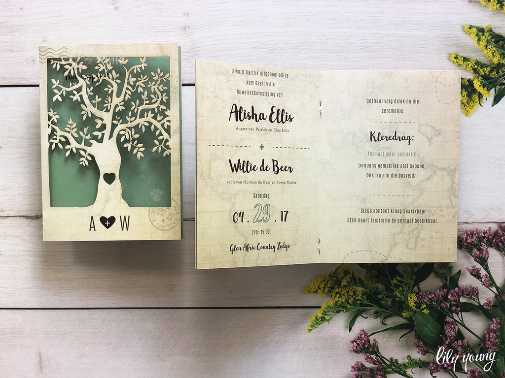 Alisha Printed Invitation Suite