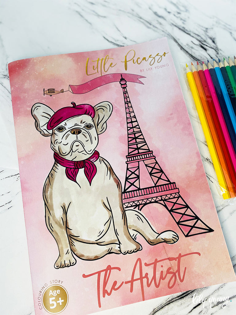 Little Picasso - Artist Colouring Book