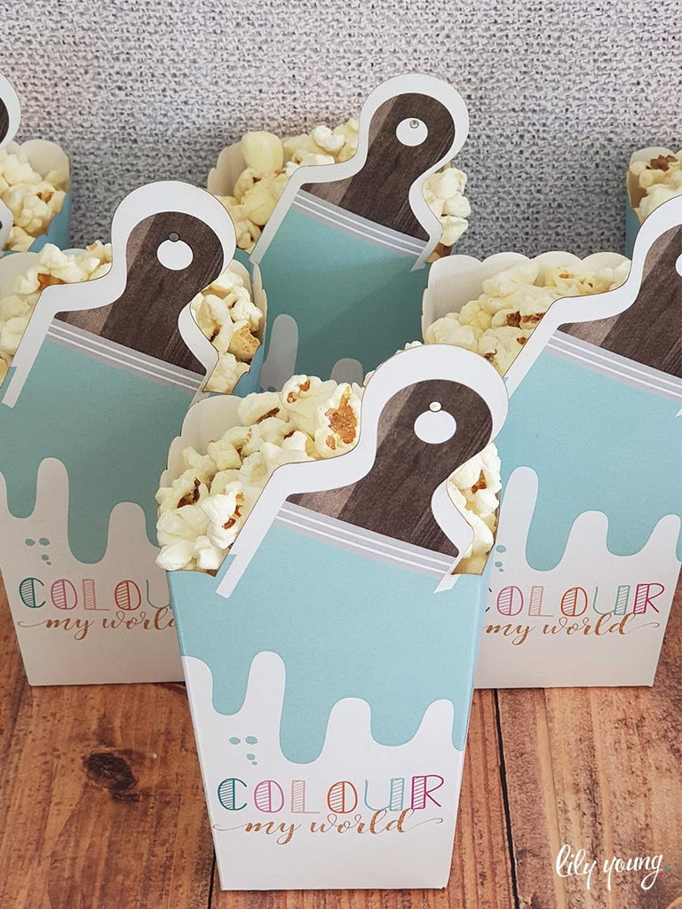 Art Popcorn boxes - Pack of 12