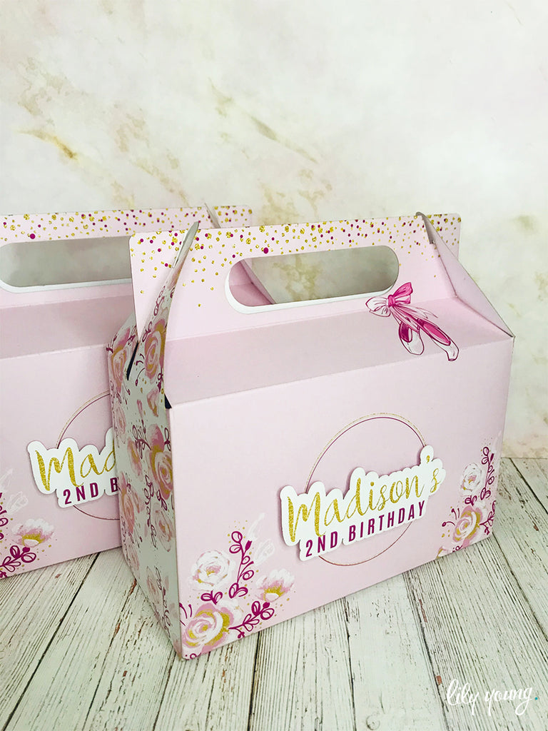 Ballerina Boxes - Pack of 12