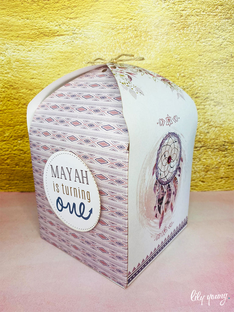 Large Boho Boxes - Pack of 12
