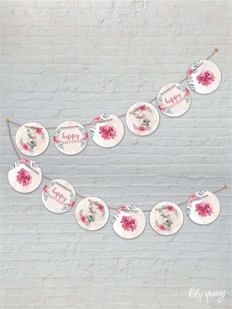 Bunny Bunting - Pack of 1