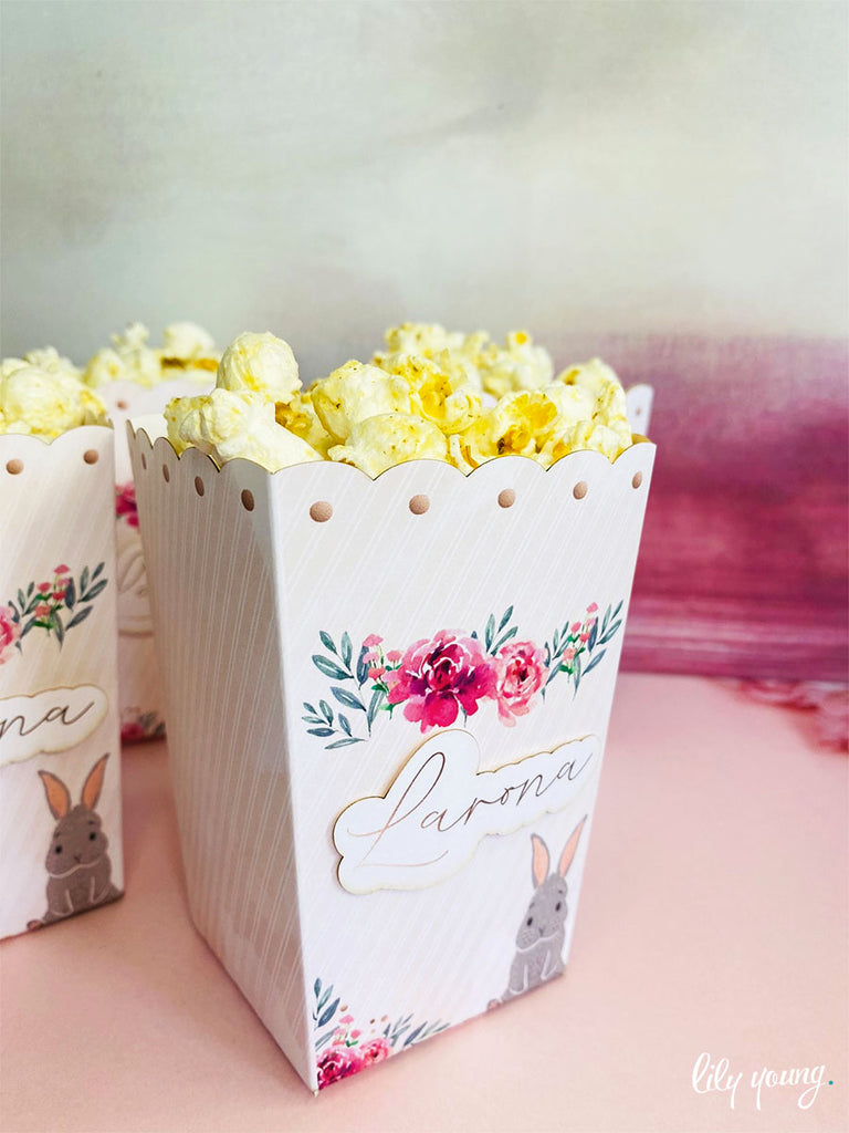 Bunny Popcorn boxes - Pack of 12