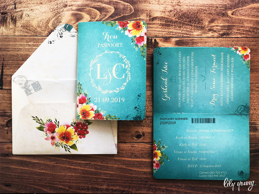 Carmen Printed Invitation Suite