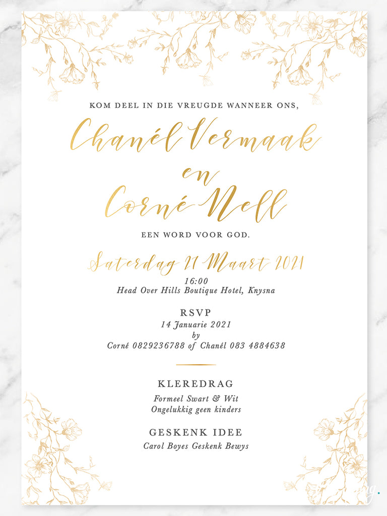Chanel Online Invitation