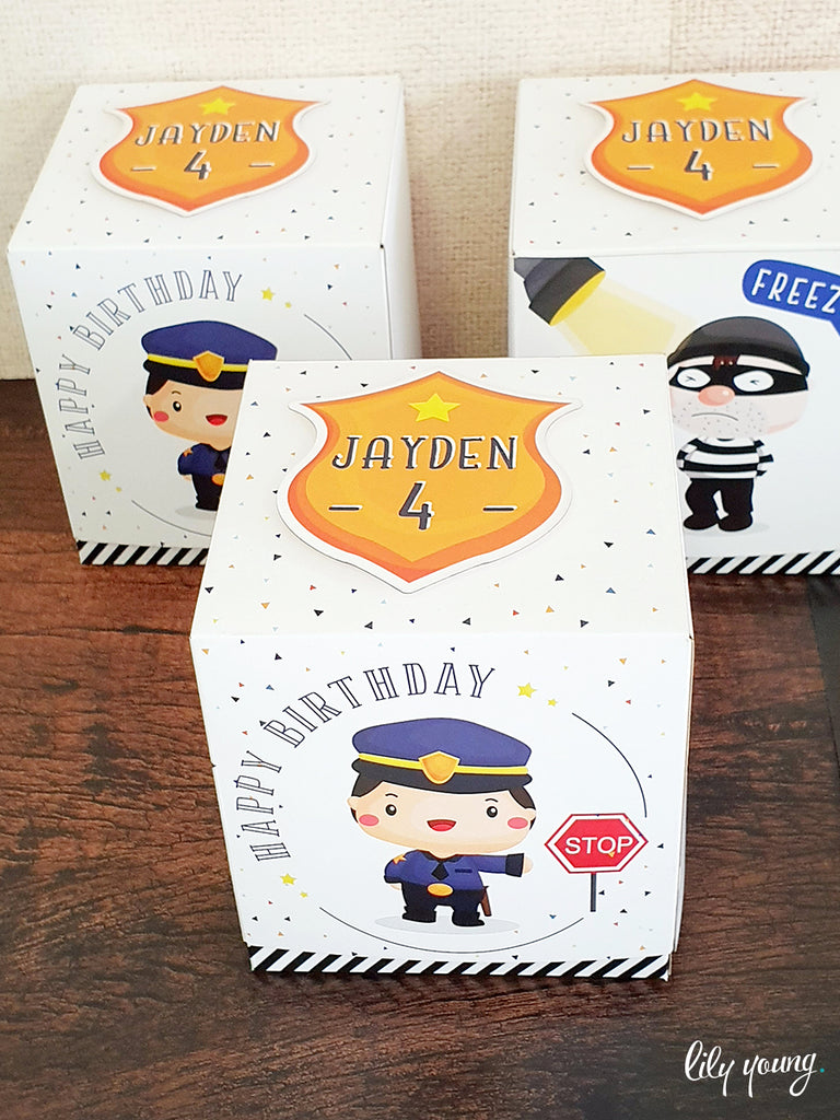 Cops & Robbers Box - Pack of 12