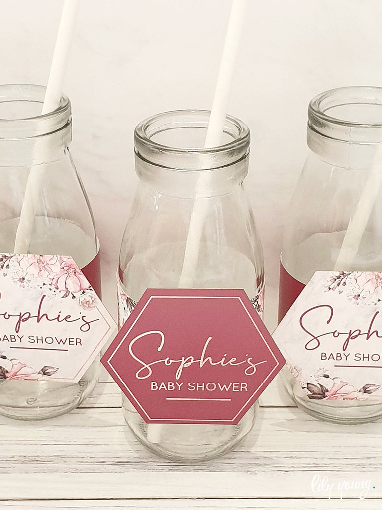 Floral Labels set - Pack of 12