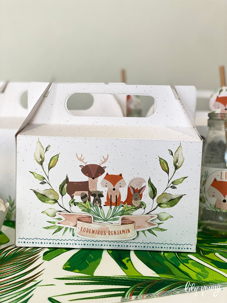 Fox Boxes - Pack of 12