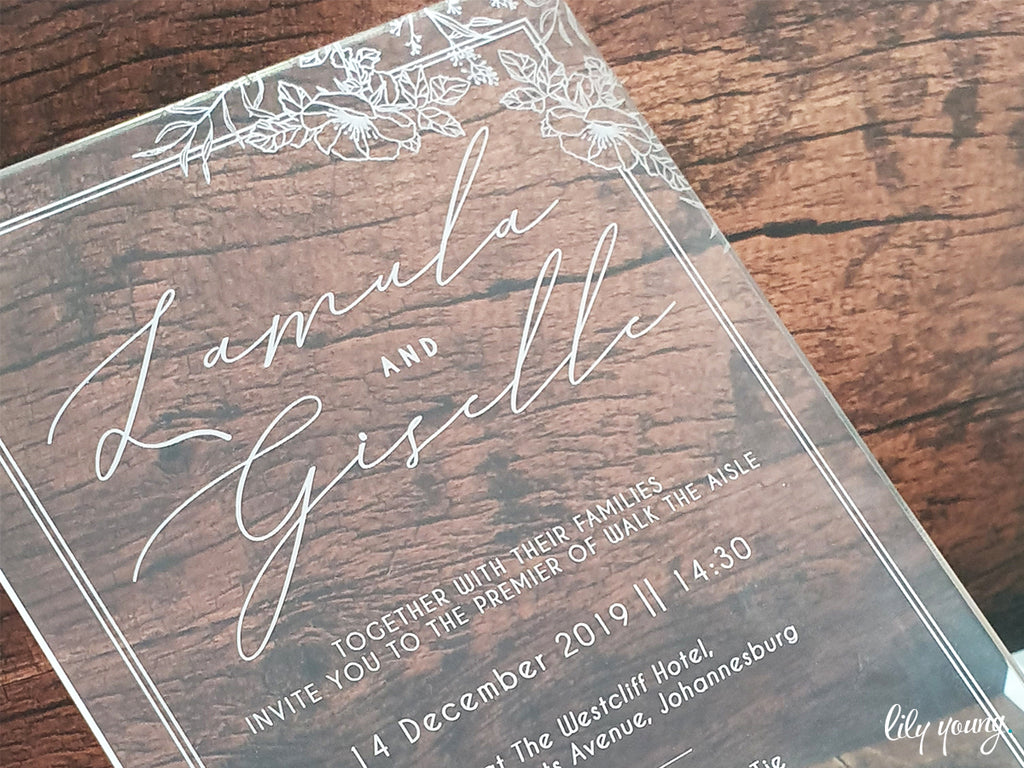 Gizelle Printed Invitation Suite