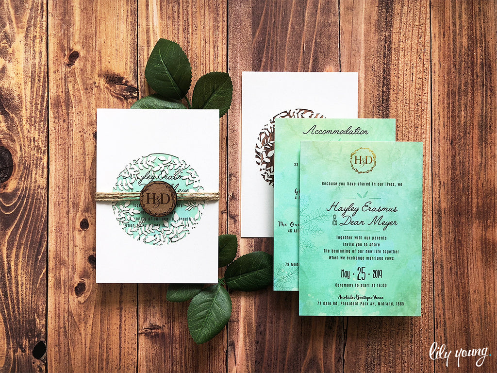Hayley Printed Invitation Suite