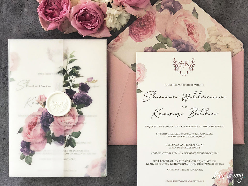 Kerry Printed Invitation Suite