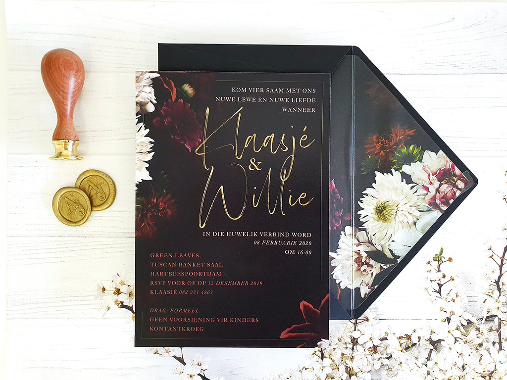 Klaasje Printed Invitation Suite