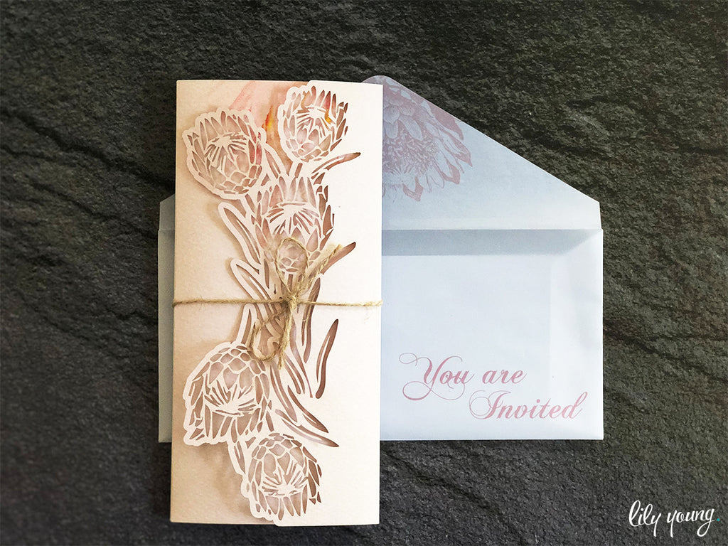 Leandre Printed Invitation Suite