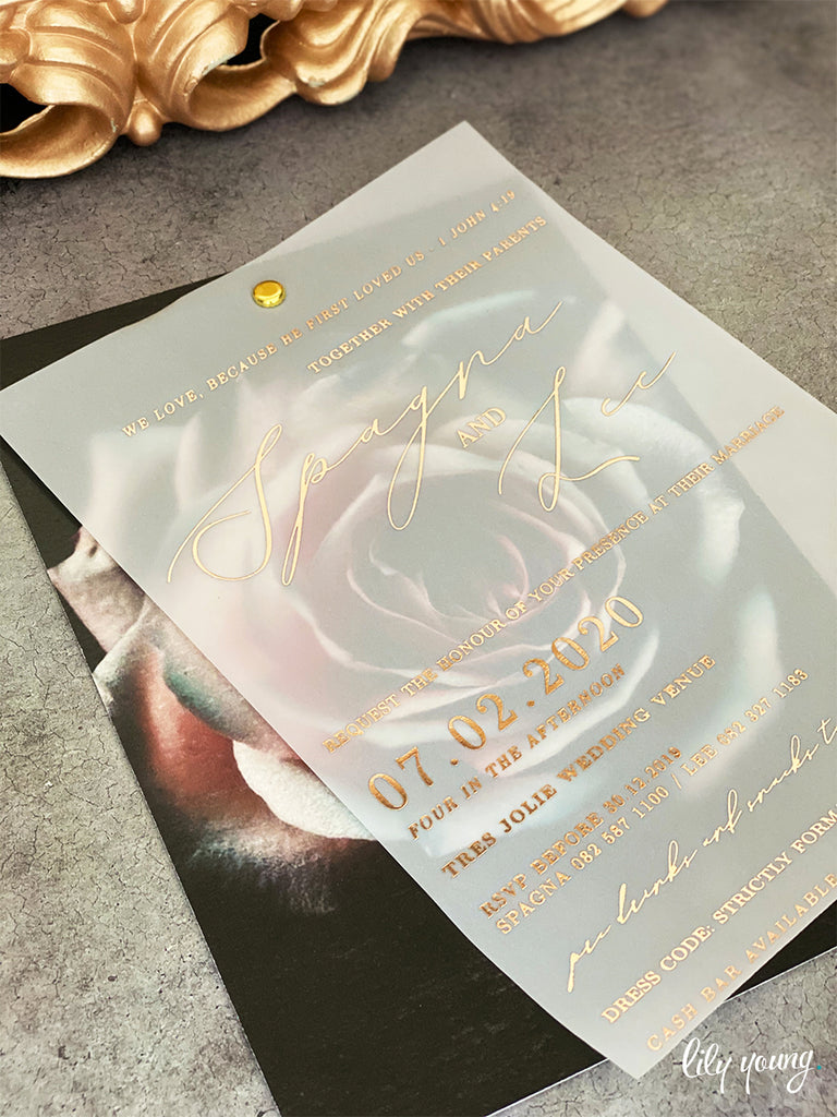 Lee Printed Invitation Suite