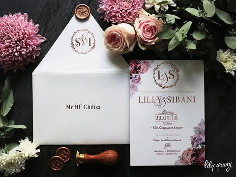 Lilly Printed Invitation Suite