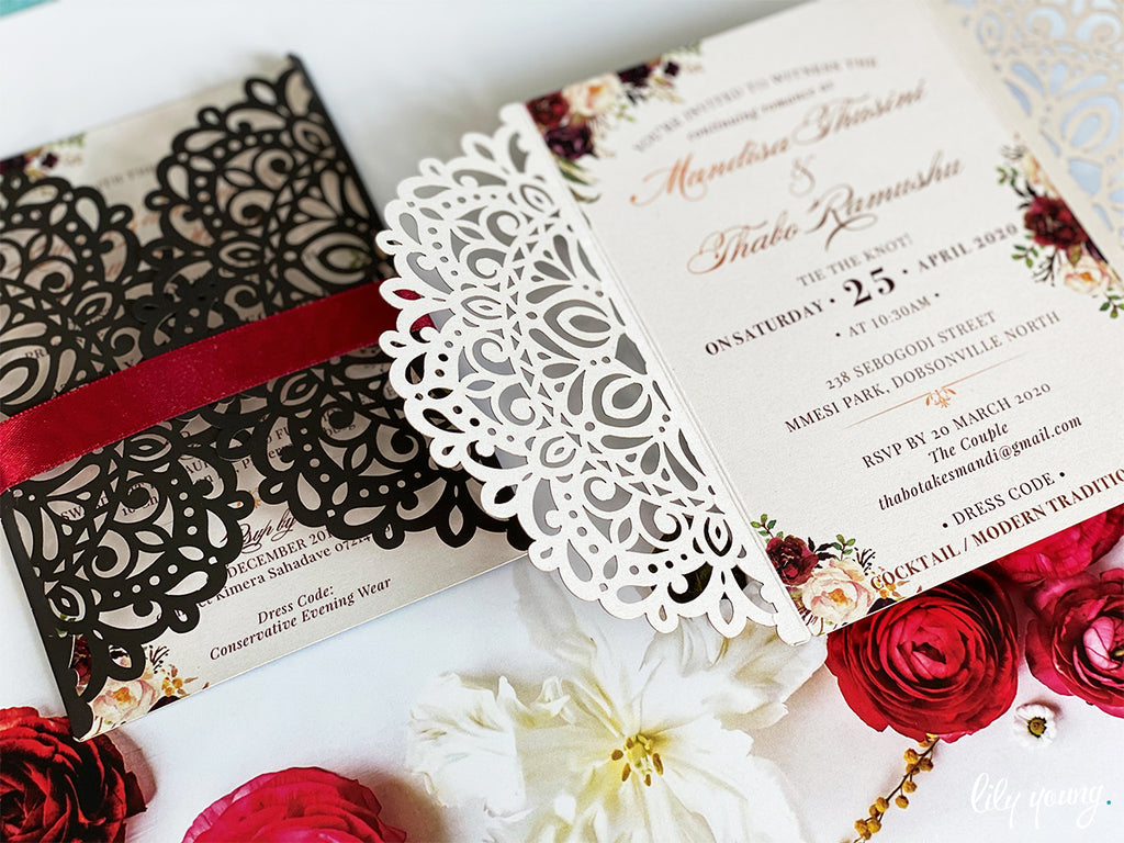 Mandisa Printed Invitation Suite