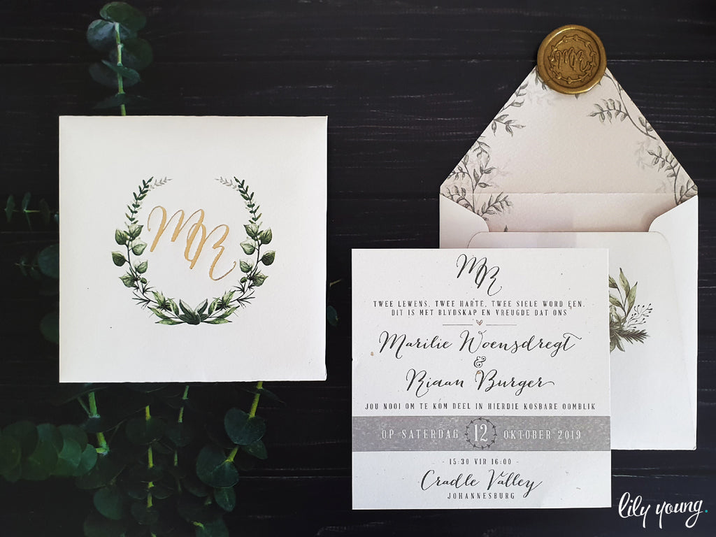 Marilie Printed Invitation Suite