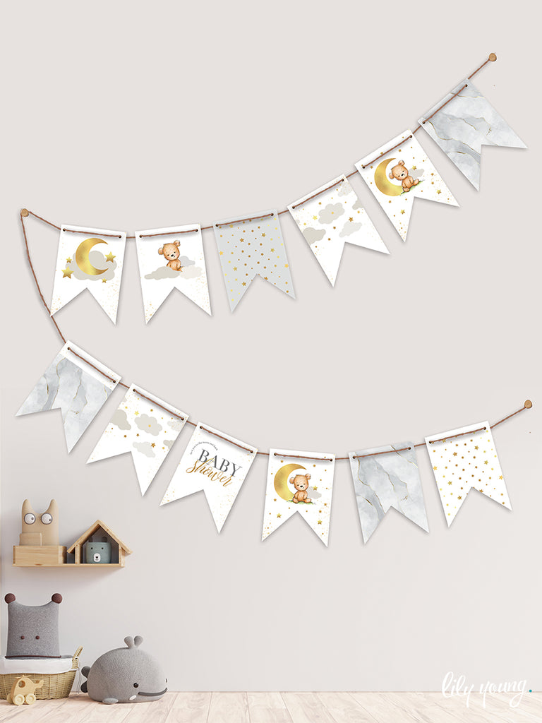 Bear Bunting - Pack of 1