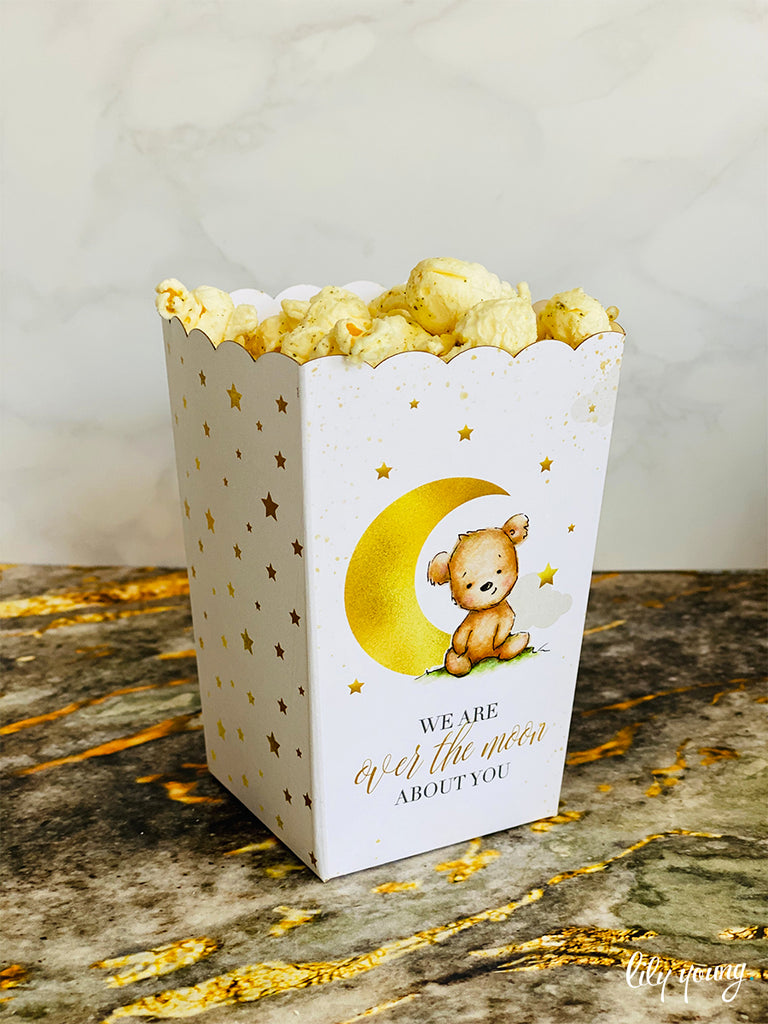Bear Popcorn boxes - Pack of 12