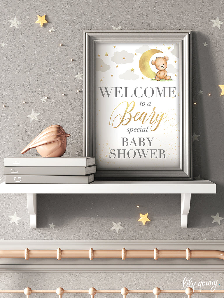 Bear Welcome Sign - Pack of 1