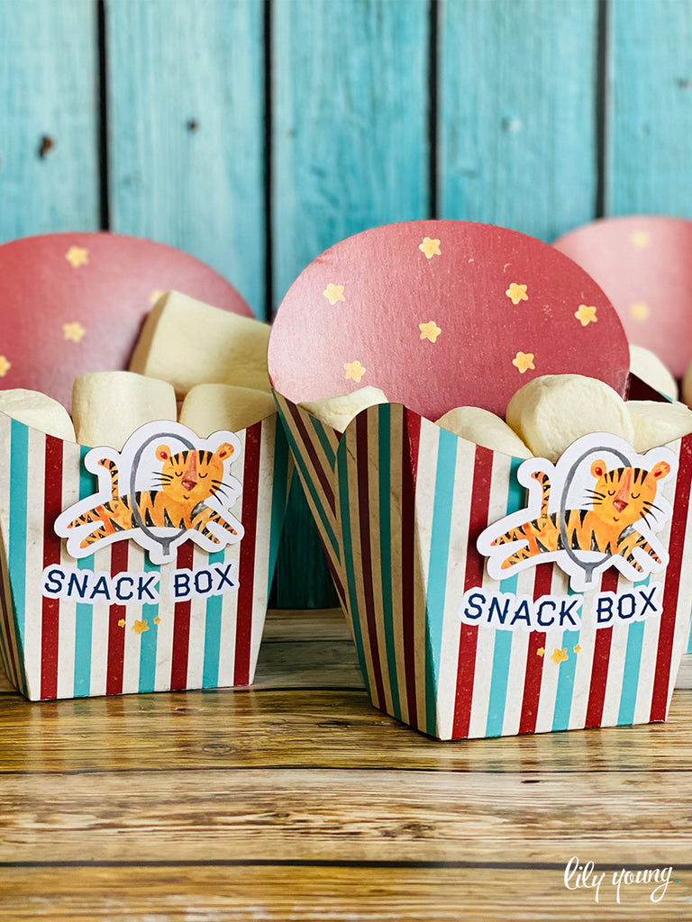 Circus Snack Bowls - Pack of 12