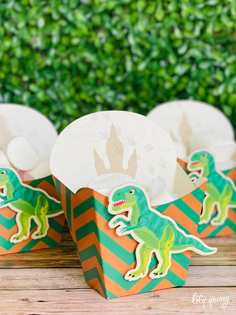 Dinosaur Snack Bowls - Pack of 12