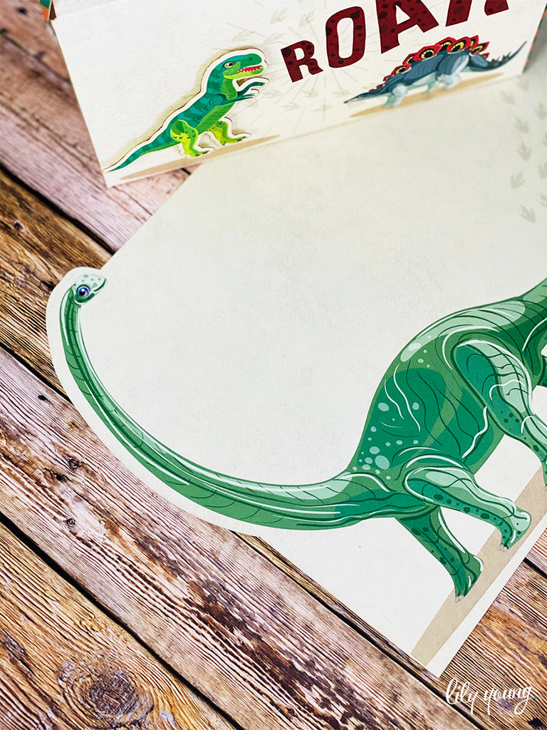 Dinosaur Under plate - Pack of 12