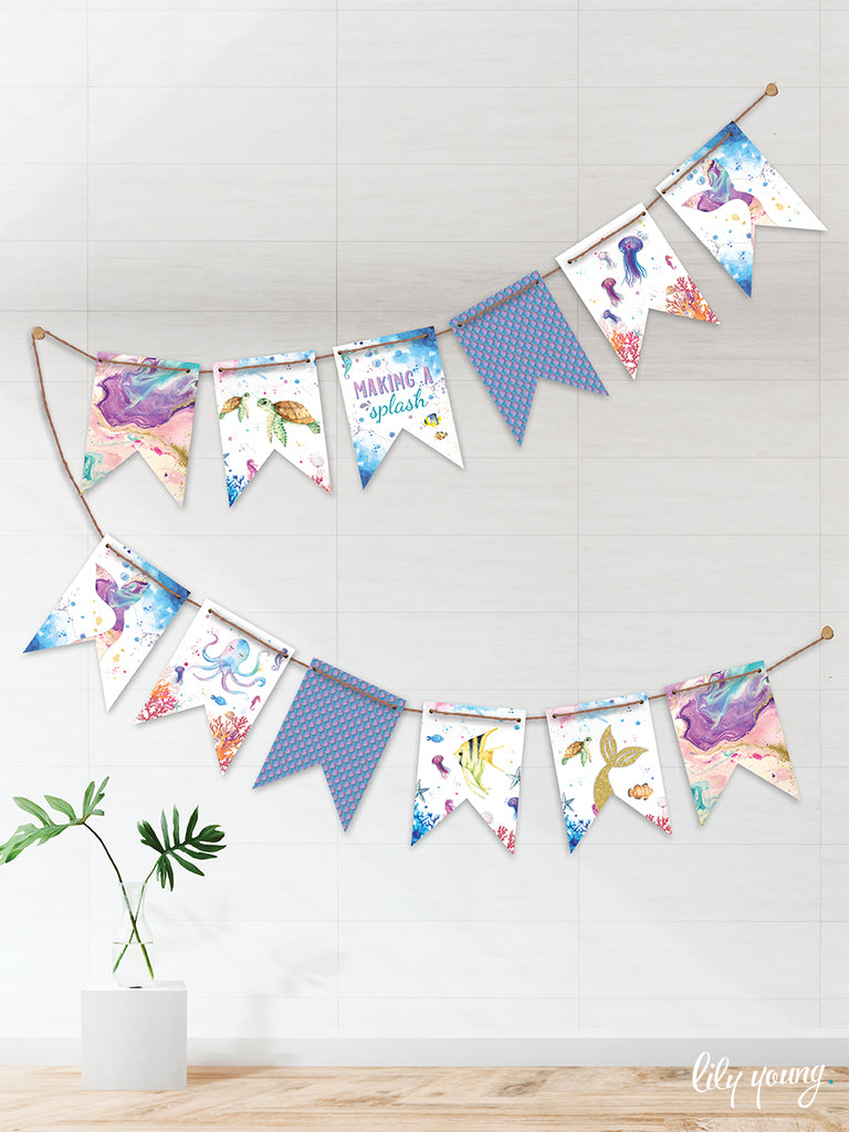 Mermaid Bunting - Pack of 1