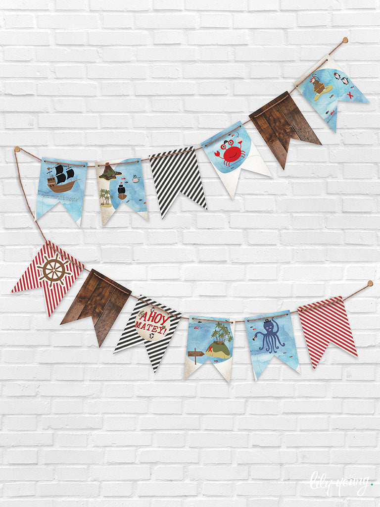 Pirate Bunting - Pack of 1