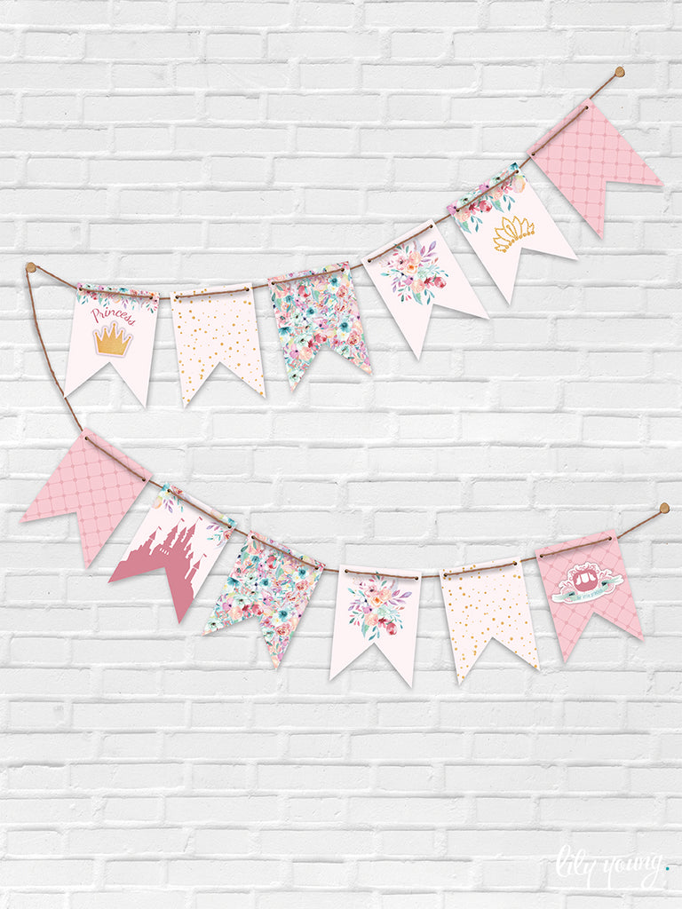 Princess Bunting - Pack of 1