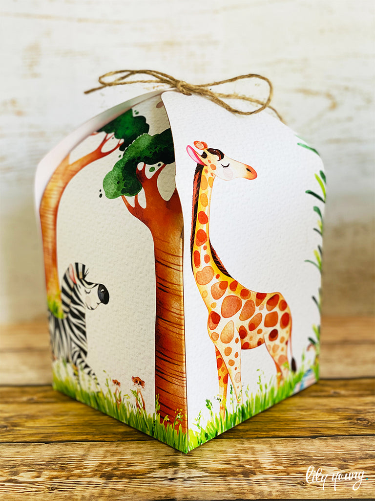 Large Safari Boxes - Pack of 12