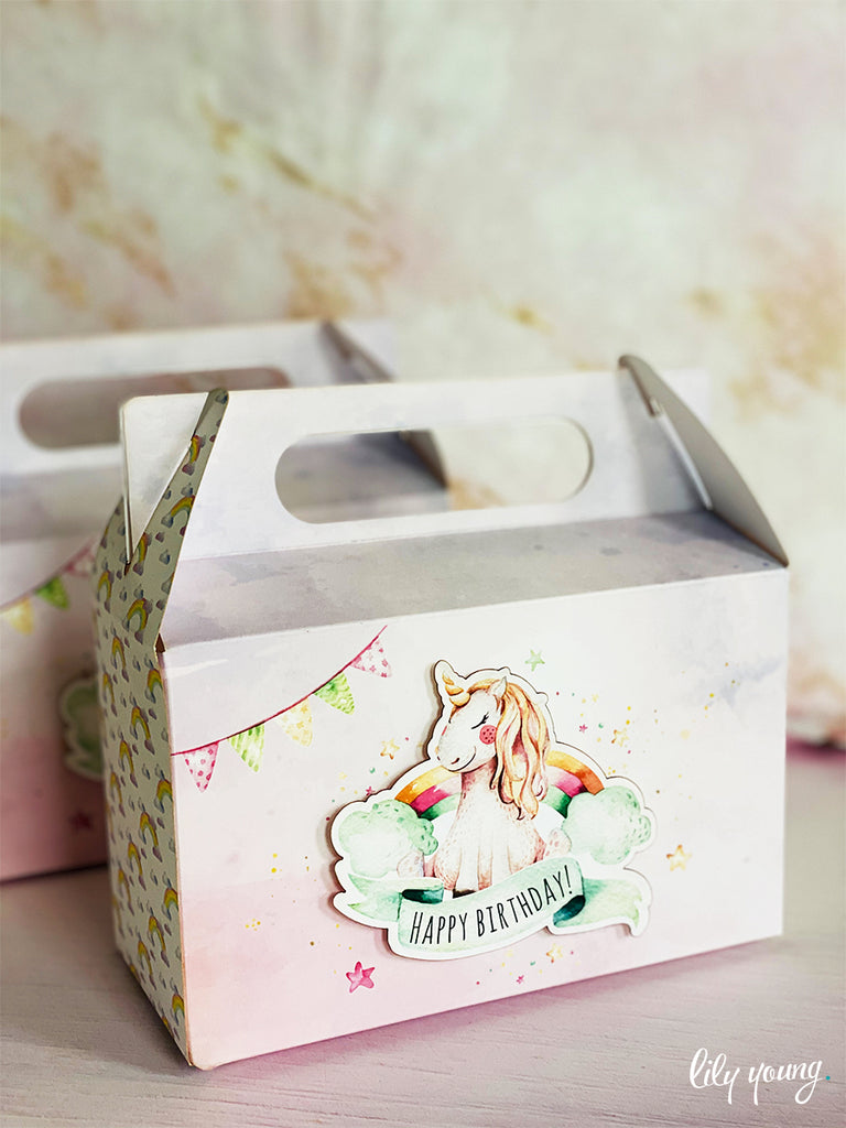 Large Unicorn Boxes - Pack of 12