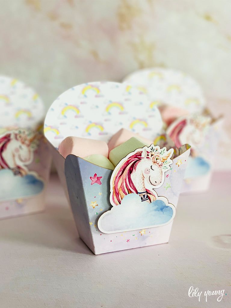 Unicorn Snack Bowls - Pack of 12