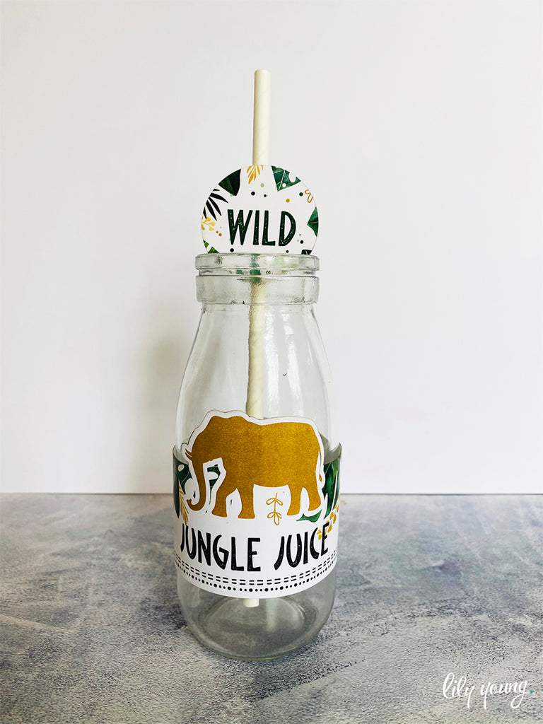 Wild One Labels set - Pack of 12