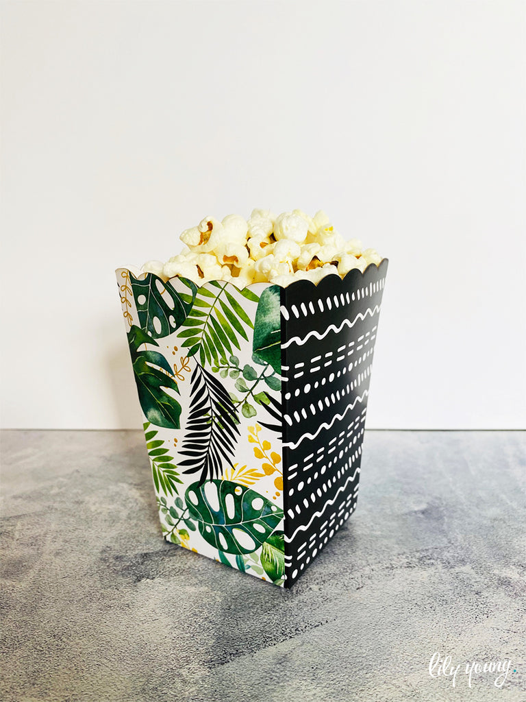 Wild One Popcorn boxes - Pack of 12