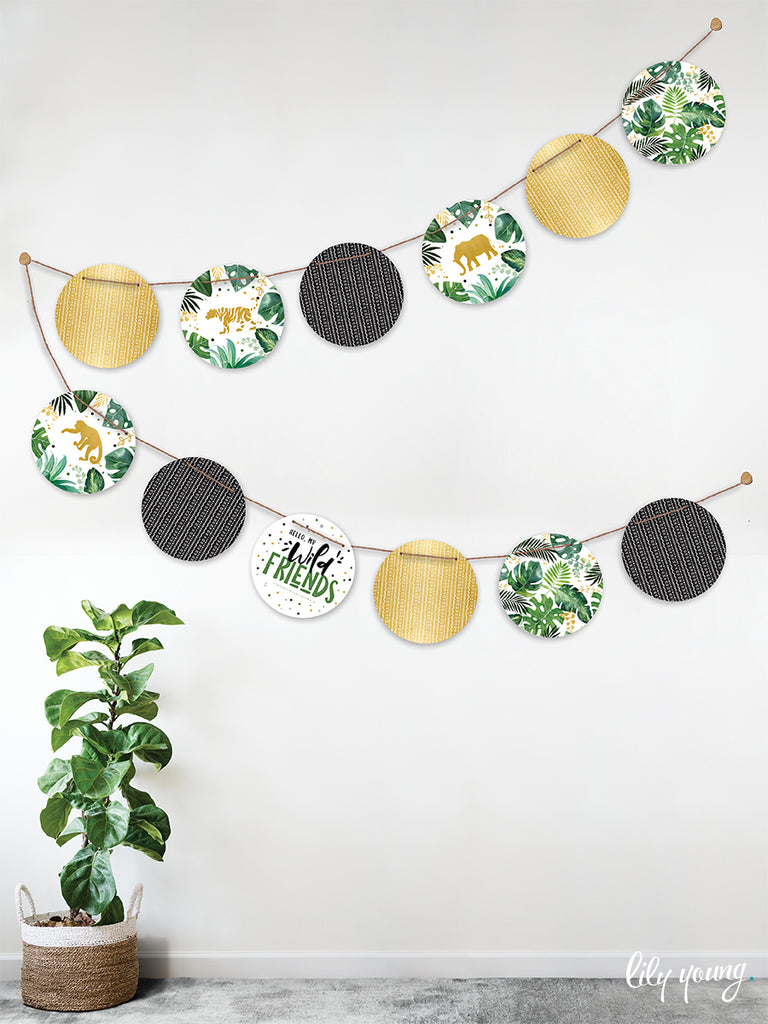 Wild One Bunting - Pack of 1
