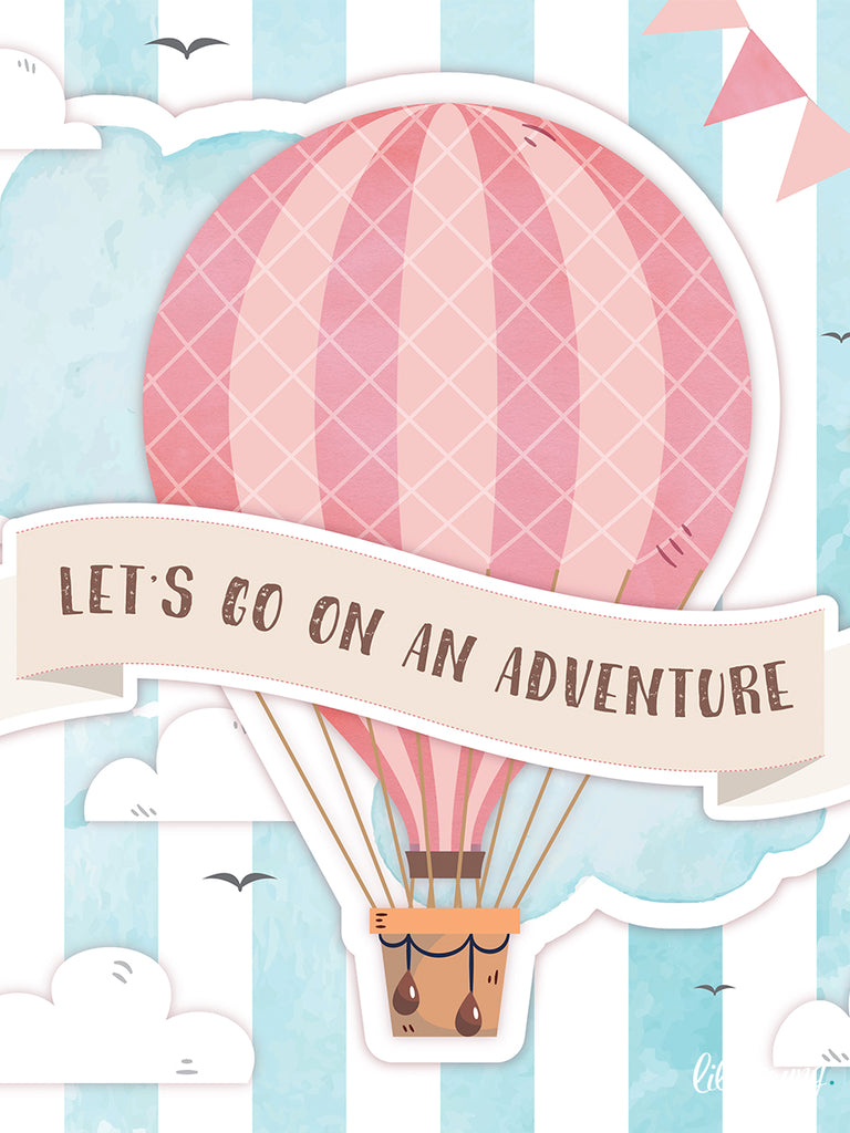 Up & Away Girl Party Package