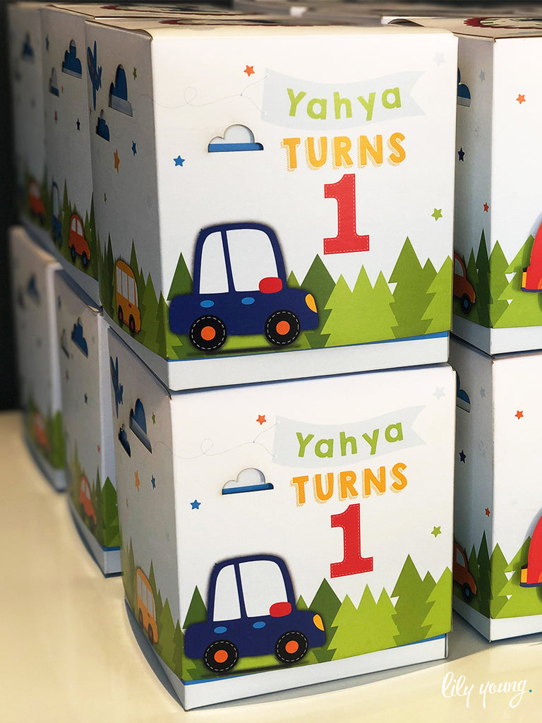Little Cars Boxes - Pack of 12