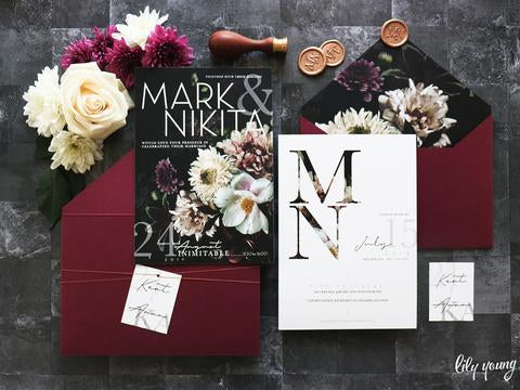 Nikita Printed Invitation Suite