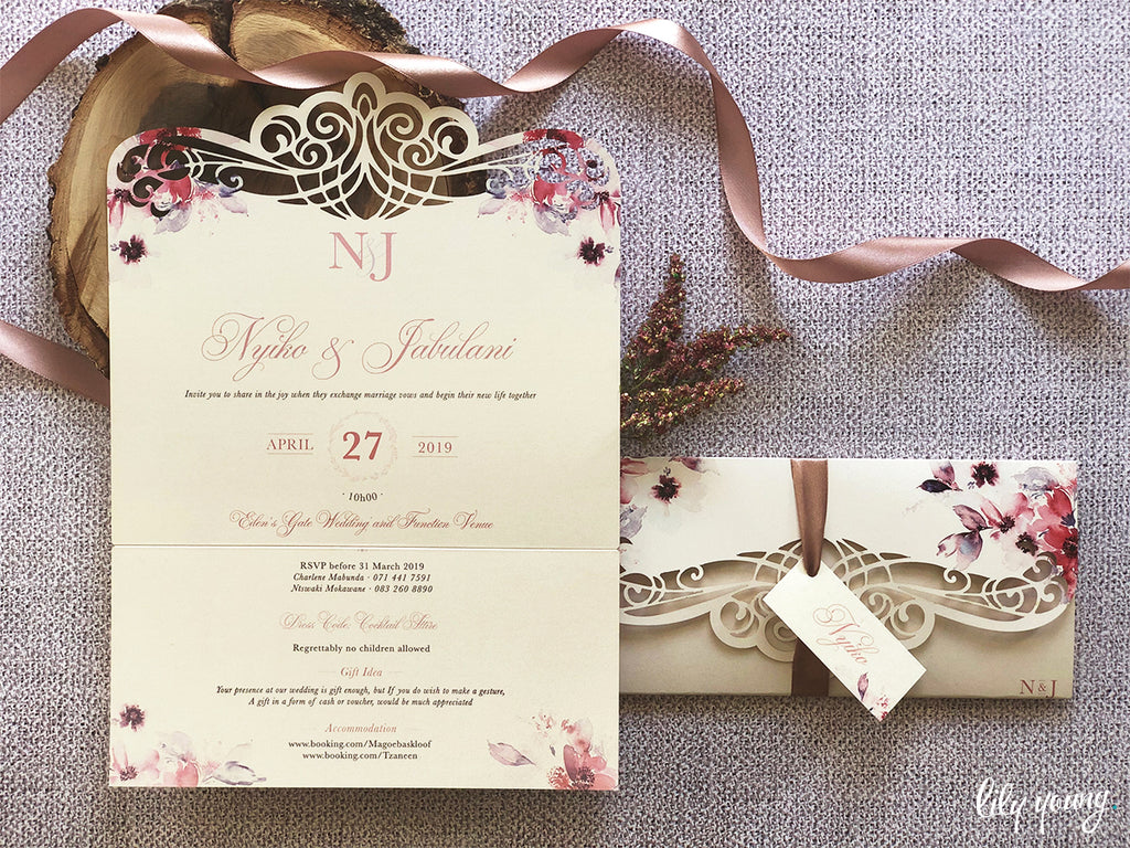 Nyiko Printed Invitation Suite