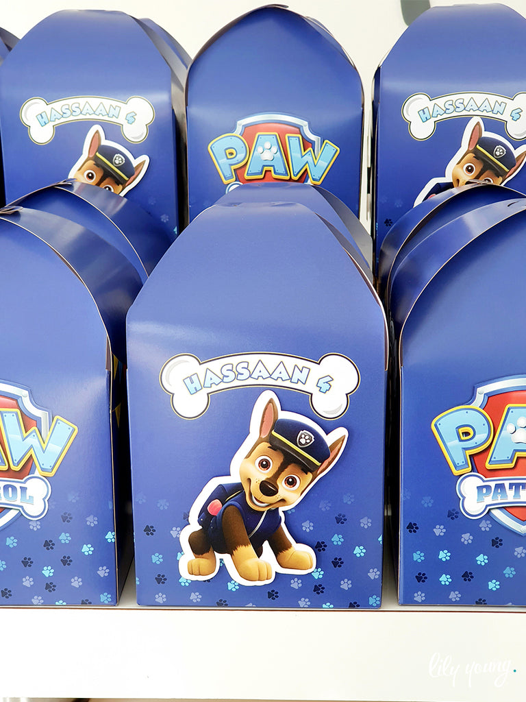 Paw Patrol Boxes - Pack of 12