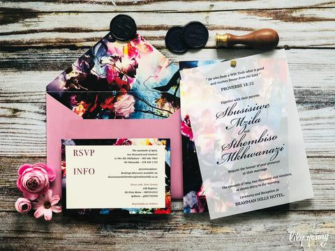 Sbusiswe Printed Invitation Suite